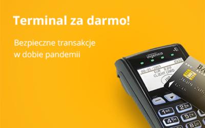 Postaw na bezpieczne transakcje i odbierz terminal za darmo